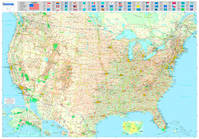 Usa carte plastifiée roulée 2009