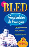 Bled vocabulaire français