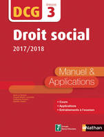 Droit social - DCG 3 - Manuel et applications, Format : ePub 3