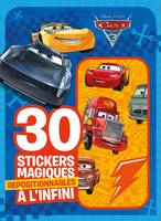 CARS 3 - Mes 30 stickers magiques repositionnables