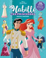 DISNEY PRINCESSES - Habille tes princesses - Princes et Princesses