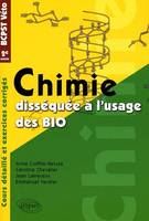 Chimie dissequee a l'usage des bio bcpst/veto 2eme annee, BCPST-Véto 2e année