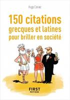 150 citations grecques et latines pour des conversations de haut vol