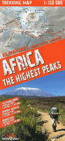 Africa-the highest peaks  1/150.000