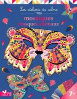 Mosaïques masques animaux