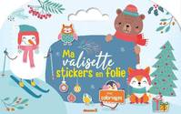 F88211/1 - Ma valisette stickers en folie: Avec coloriages