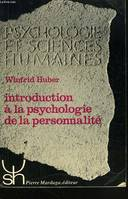 INTRODUCTION A LA PSYCHOLOGIE DE LA PERSONNALITE 65