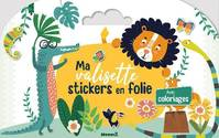 F88211/2 - Ma valisette stickers en folie: Avec coloriages