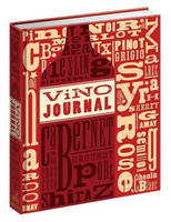 Vino Journal, notebook (Anglais), for tasting notes