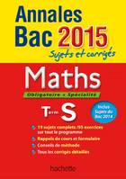 Annales Bac 2015 Maths Term S