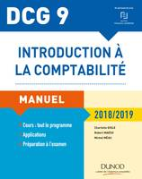 DCG 9 - Introduction à la comptabilité 2018/2019 - Manuel, Manuel