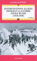 Interventions alliées pendant la guerre civile Russe (1918-1920), 1918-1920
