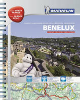 Benelux with North France / touristing and motoring atlas