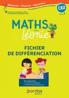 LES MATHS AVEC LEONIE CE2 2020 FICHIER DE DIFFERENCIATION PHOTOCOPIABLE