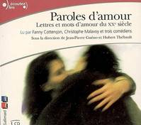 PAROLES D'AMOUR CD