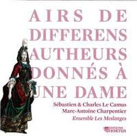 CD - AIRS DE DIFFERENS AUTHEURS DONNES A UNE DAME