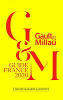 Guide Gault&Millau France 2020, 3200 Restaurants & Bistrots