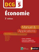 Economie - DCG 5 - Manuel et applications, Format : ePub 2