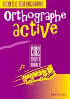 ORTHOGRAPHE ACTIVE CM2 ELEVE