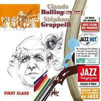 FIRST CLASS STEPHANE GRAPPELLI ET CLAUDE BOLLING BIG BAND VERSION CD EXISTE AUSSI EN DVD