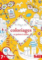 Coloriages et points à relier