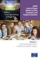 ETINED - Volume 5 - South-East European Project on Policies for Academic Integrity
