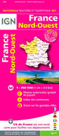 801 FRANCE NORD-OUEST  1/350.000