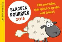 CALENDRIER - Minimaniak Blagues pourries 2018