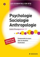 Psychologie, Sociologie, Anthropologie - Ue 1.1 - Tome 8, Ue 1.1
