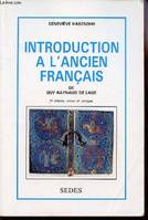 Introduction à l'ancien français