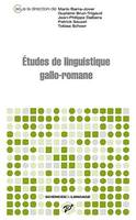 Études de linguistique gallo-romane
