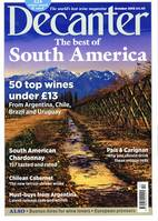 Decanter magazine: October 2015, Inside Decanter October 2015: the new face of Chilean Cabernet, South America's most exciting whites and the revival of País.