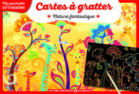 Cartes à gratter - Nature fantastique