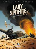 Lady Spitfire T4 - Desert Air Force