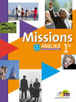 Missions, anglais 1re, B1-B2 / grand format