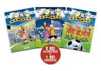 Les foot maniacs Pack 2+1 T04-05-06