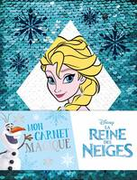 LA REINE DES NEIGES - Carnet à Sequins