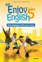 New Enjoy English 5e - Guide pédagogique - version papier, Prof