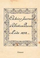 Cahier Journal, 1892