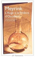 L'ANGE A LA FENETRE D'OCCIDENT