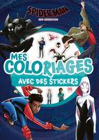 SPIDER-MAN NEW GENERATION - Mes Coloriages avec Stickers - MARVEL, .