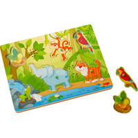 Puzzle musical jungle