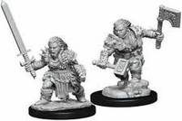 PATHFINDER DEEP CUTS - BLISTER - FEMALE DWARF BARBARIAN