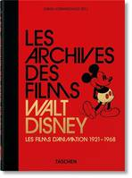 Les archives des films Walt Disney, Les films d'animation