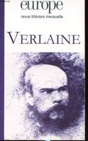 EUROPE N °936 : VERLANE, Paul Verlaine