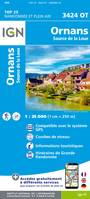3424OT ORNANS/SOURCE DE LA LOUE