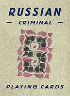 Russian Criminal Playing Cards /anglais