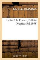 Lettre à la France, l'affaire Dreyfus