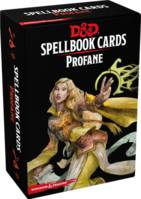 Dungeons & Dragons 5 VF - Spellbook Cards Profane