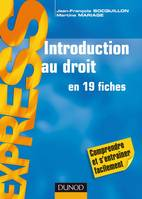 Introduction au droit - en 19 fiches